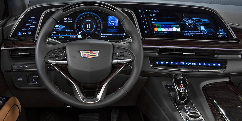 В Лос-Анджелесе официально представлен новый Cadillac Escalade