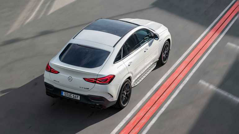 Бренд Mercedes-AMG анонсировал новую топовую версии кросс-купе GLE Coupe S