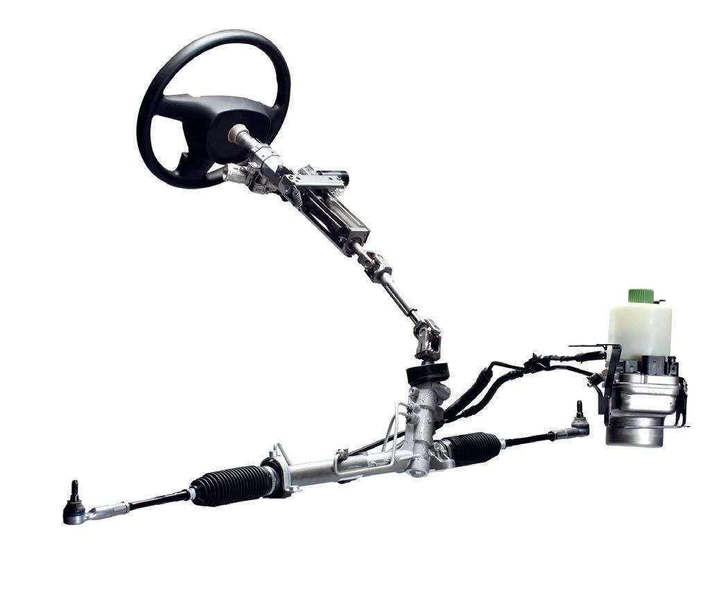 Гидроусилитель руля автомобиля: назначение, принцип работы, типичные поломки