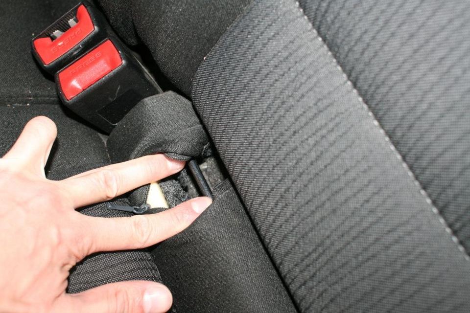 Крепления изофикс в машине фото картинки