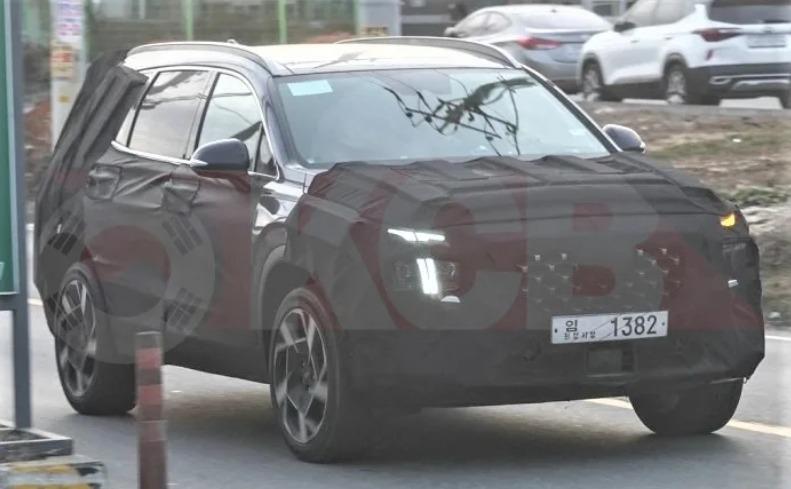 Продажи обновленного кроссовера Hyundai Santa Fe РФ ожидаются в 2020 году