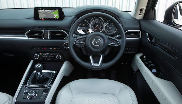 Анонсированы продажи новой версии кроссовера Mazda CX-5