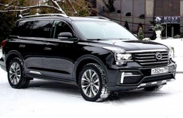 На рынок РФ начались поставки топовой комплектации кросса GAC GS8
