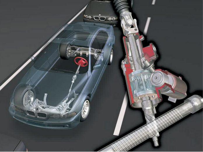 система рулевого управления автомобилем