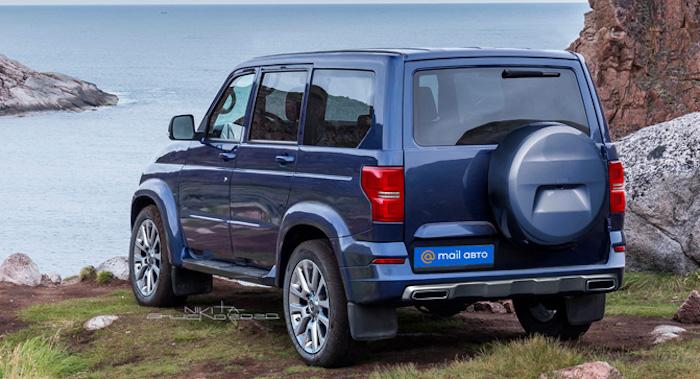 В ожидании нового внедорожника УАЗ неофициально названного «Русским Прадо»
