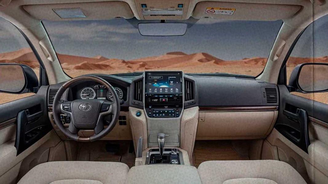 Внедорожник Toyota Land Cruiser 200 для рынка ОАЭ выпущен в версии Heritage Edition