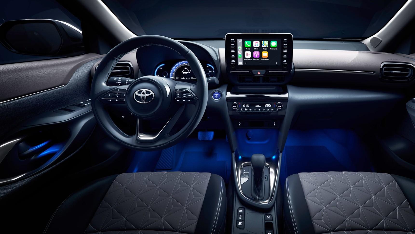 Toyota на глобальном ресурсе презентовала новый кроссовер Yaris Cross