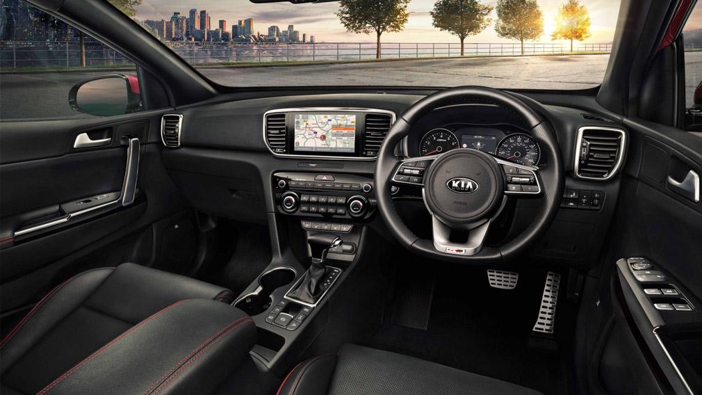 Обновленный кросс Kia Sportage презентовали официально