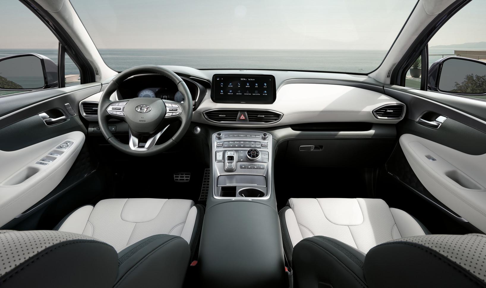 Официально раскрыт дизайн обновленного кроссовера Hyundai Santa Fe