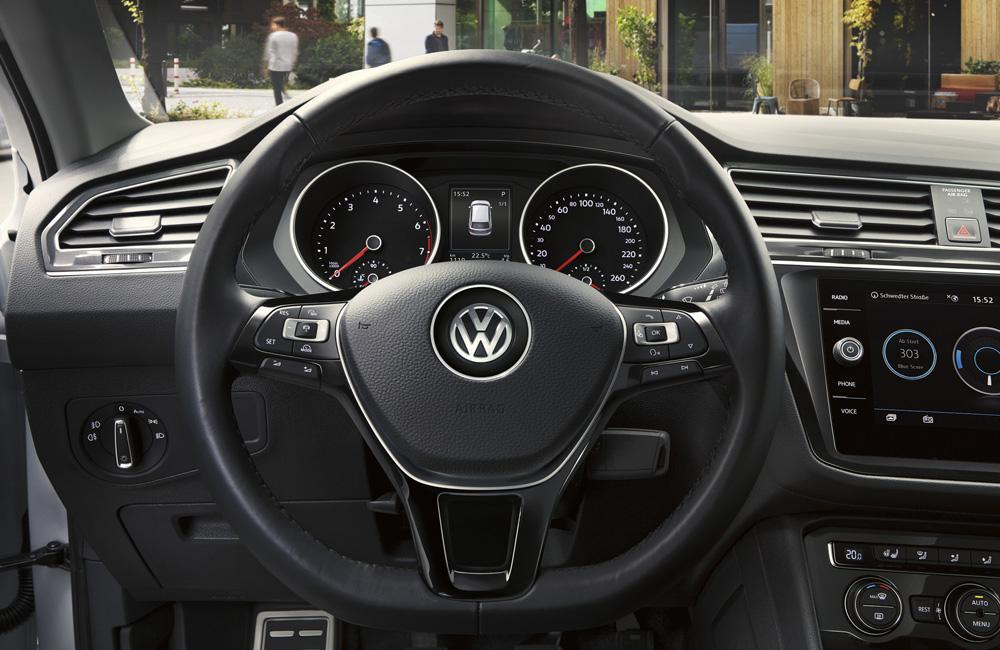 Производитель объявил о выводе на рынок в России новой версии кросса Volkswagen Tiguan
