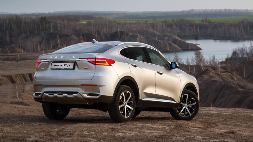 В России начались продажи новой модификации кросс-купе Haval F7x