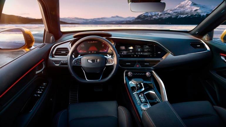 Рассекречено наименование нового кросс-купе Geely для российского рынка