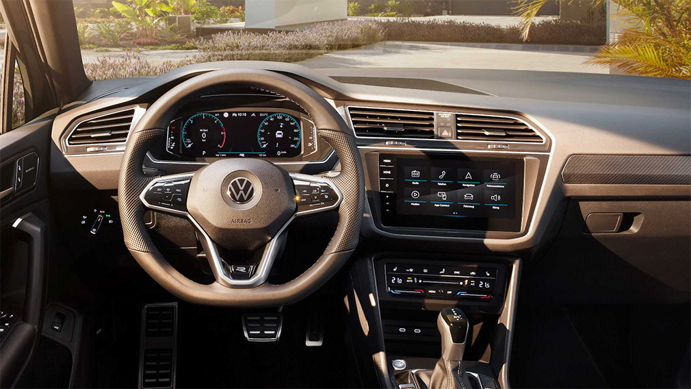 Состоялась официальная презентация обновленного кросса Volkswagen Tiguan