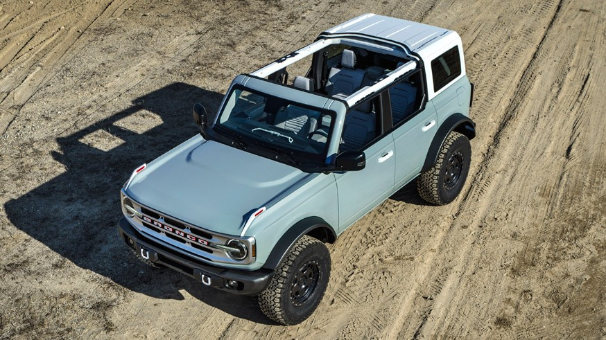 Американский бренд представил серийный образец внедорожника Ford Bronco