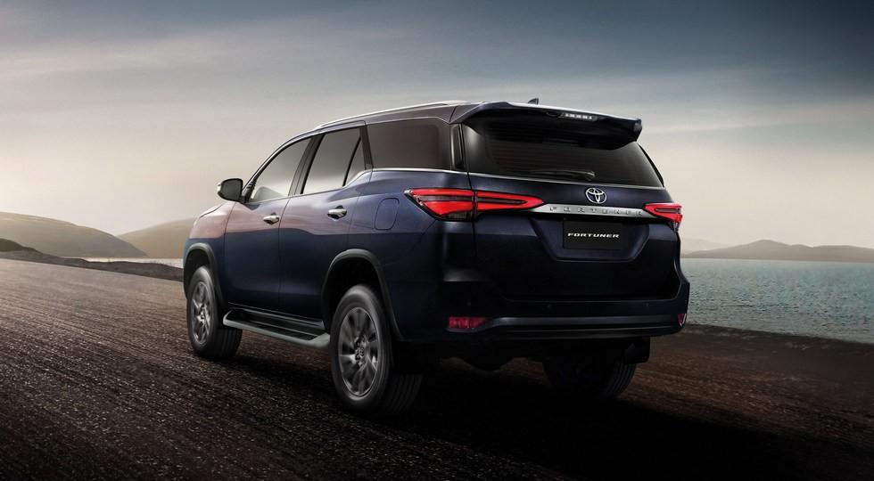 Обновленный кросс Toyota Fortuner сертифицирован для российского рынка
